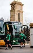 21 November 2020; The Ireland team, including Finlay Bealham and Chris Farrell arrive prior to the Autumn Nations Cup match between England and Ireland at Twickenham Stadium in London, England. Photo by Matt Impey/Sportsfile