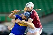 21 November 2020; Jason Forde of Tipperary in action against Shane Cooney of Galway during the GAA Hurling All-Ireland Senior Championship Quarter-Final match between Galway and Tipperary at LIT Gaelic Grounds in Limerick. Photo by Piaras Ó Mídheach/Sportsfile