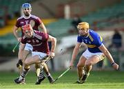 21 November 2020; Conor Whelan of Galway gets past Ronan Maher of Tipperary during the GAA Hurling All-Ireland Senior Championship Quarter-Final match between Galway and Tipperary at LIT Gaelic Grounds in Limerick. Photo by Piaras Ó Mídheach/Sportsfile