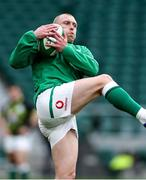 21 November 2020; Keith Earls of Ireland prior to the Autumn Nations Cup match between England and Ireland at Twickenham Stadium in London, England. Photo by Matt Impey/Sportsfile