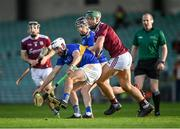 21 November 2020; Patrick Maher of Tipperary in action against Fintan Burke of Galway during the GAA Hurling All-Ireland Senior Championship Quarter-Final match between Galway and Tipperary at LIT Gaelic Grounds in Limerick. Photo by Piaras Ó Mídheach/Sportsfile