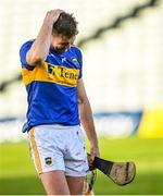 21 November 2020; Tipperary captain Séamus Callanan leaves the field dejected after the GAA Hurling All-Ireland Senior Championship Quarter-Final match between Galway and Tipperary at LIT Gaelic Grounds in Limerick. Photo by Piaras Ó Mídheach/Sportsfile