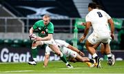 21 November 2020; Keith Earls of Ireland in action against Billy Vunipola of England during the Autumn Nations Cup match between England and Ireland at Twickenham Stadium in London, England. Photo by Matt Impey/Sportsfile
