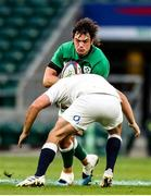 21 November 2020; Quinn Roux of Ireland in action during the Autumn Nations Cup match between England and Ireland at Twickenham Stadium in London, England. Photo by Matt Impey/Sportsfile