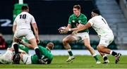 21 November 2020; Chris Farrell of Ireland is tackled by Mako Vunipola of England during the Autumn Nations Cup match between England and Ireland at Twickenham Stadium in London, England. Photo by Matt Impey/Sportsfile
