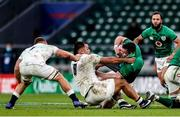 21 November 2020; James Ryan of Ireland is tackled by Billy Vunipola of England during the Autumn Nations Cup match between England and Ireland at Twickenham Stadium in London, England. Photo by Matt Impey/Sportsfile