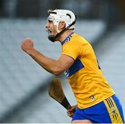 21 November 2020; Aron Shanagher of Clare celebrates after scoring his side's first goal during the GAA Hurling All-Ireland Senior Championship Quarter-Final match between Clare and Waterford at Pairc Uí Chaoimh in Cork. Photo by Eóin Noonan/Sportsfile