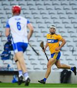 21 November 2020; Aron Shanagher of Clare celebrates after scoring his side's second goal during the GAA Hurling All-Ireland Senior Championship Quarter-Final match between Clare and Waterford at Pairc Uí Chaoimh in Cork. Photo by Eóin Noonan/Sportsfile