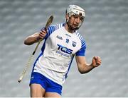 21 November 2020; Jack Fagan of Waterford celebrates after scoring his side's third goal during the GAA Hurling All-Ireland Senior Championship Quarter-Final match between Clare and Waterford at Pairc Uí Chaoimh in Cork. Photo by Harry Murphy/Sportsfile