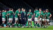 21 November 2020; The Ireland team after the Autumn Nations Cup match between England and Ireland at Twickenham Stadium in London, England. Photo by Matt Impey/Sportsfile