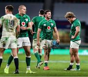 21 November 2020; Will Connors and Finlay Bealham of Ireland after the Autumn Nations Cup match between England and Ireland at Twickenham Stadium in London, England. Photo by Matt Impey/Sportsfile