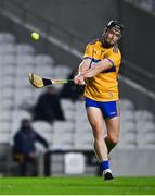 21 November 2020; Tony Kelly of Clare scores a point from a free during the GAA Hurling All-Ireland Senior Championship Quarter-Final match between Clare and Waterford at Pairc Uí Chaoimh in Cork. Photo by Harry Murphy/Sportsfile