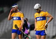 21 November 2020; Aidan McCarthy, rigth, and Diarmuid Ryan of Clare react following the GAA Hurling All-Ireland Senior Championship Quarter-Final match between Clare and Waterford at Pairc Uí Chaoimh in Cork. Photo by Harry Murphy/Sportsfile