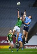 21 November 2020; Brian Fenton of Dublin in action against Bryan Menton of Meath during the Leinster GAA Football Senior Championship Final match between Dublin and Meath at Croke Park in Dublin. Photo by Stephen McCarthy/Sportsfile