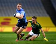 21 November 2020; Paddy Small of Dublin in action against Conor McGill of Meath during the Leinster GAA Football Senior Championship Final match between Dublin and Meath at Croke Park in Dublin. Photo by Ray McManus/Sportsfile
