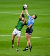 21 November 2020; Brian Fenton of Dublin in action against Bryan Menton of Meath during the Leinster GAA Football Senior Championship Final match between Dublin and Meath at Croke Park in Dublin. Photo by Ramsey Cardy/Sportsfile