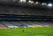 21 November 2020; A general view of action during the Leinster GAA Football Senior Championship Final match between Dublin and Meath at Croke Park in Dublin. Photo by Ramsey Cardy/Sportsfile