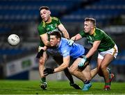 21 November 2020; Con O'Callaghan of Dublin in action against David Toner of Meath, left, and Séamus Lavin of Meath during the Leinster GAA Football Senior Championship Final match between Dublin and Meath at Croke Park in Dublin. Photo by Ray McManus/Sportsfile
