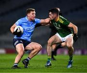 21 November 2020; Ciarán Kilkenny of Dublin in action against Donal Keogan of Meath during the Leinster GAA Football Senior Championship Final match between Dublin and Meath at Croke Park in Dublin. Photo by Ray McManus/Sportsfile