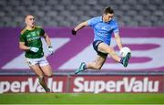 21 November 2020; Con O'Callaghan of Dublin in action against Ronan Ryan of Meath during the Leinster GAA Football Senior Championship Final match between Dublin and Meath at Croke Park in Dublin. Photo by Stephen McCarthy/Sportsfile