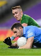 21 November 2020; Dean Rock of Dublin in action against Ronan Ryan of Meath during the Leinster GAA Football Senior Championship Final match between Dublin and Meath at Croke Park in Dublin. Photo by Stephen McCarthy/Sportsfile