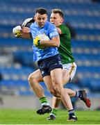 21 November 2020; Cormac Costello of Dublin is tackled by Ronan Jones of Meath during the Leinster GAA Football Senior Championship Final match between Dublin and Meath at Croke Park in Dublin. Photo by Brendan Moran/Sportsfile