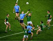 21 November 2020; Brian Fenton of Dublin in action against Ronan Jones of Meath during the Leinster GAA Football Senior Championship Final match between Dublin and Meath at Croke Park in Dublin. Photo by Daire Brennan/Sportsfile