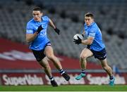 21 November 2020; Con O'Callaghan, right, and Brian Fenton of Dublin during the Leinster GAA Football Senior Championship Final match between Dublin and Meath at Croke Park in Dublin. Photo by Stephen McCarthy/Sportsfile