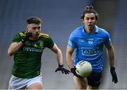 21 November 2020; David Byrne of Dublin in action against David Toner of Meath during the Leinster GAA Football Senior Championship Final match between Dublin and Meath at Croke Park in Dublin. Photo by Stephen McCarthy/Sportsfile