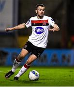 20 November 2020; Michael Duffy of Dundalk during the Extra.ie FAI Cup Quarter-Final match between Bohemians and Dundalk at Dalymount Park in Dublin. Photo by Ben McShane/Sportsfile