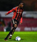 20 November 2020; Andre Wright of Bohemians during the Extra.ie FAI Cup Quarter-Final match between Bohemians and Dundalk at Dalymount Park in Dublin. Photo by Ben McShane/Sportsfile