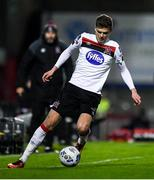 20 November 2020; Sean Gannon of Dundalk during the Extra.ie FAI Cup Quarter-Final match between Bohemians and Dundalk at Dalymount Park in Dublin. Photo by Ben McShane/Sportsfile