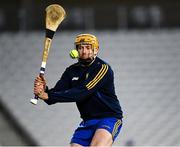 21 November 2020; Eibhear Quilligan of Clare during the GAA Hurling All-Ireland Senior Championship Quarter-Final match between Clare and Waterford at Pairc Uí Chaoimh in Cork. Photo by Harry Murphy/Sportsfile