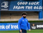 22 November 2020; Michael Milne of Leinster ahead of the Guinness PRO14 match between Leinster and Cardiff Blues at the RDS Arena in Dublin. Photo by Ramsey Cardy/Sportsfile