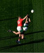 22 November 2020; Colin O'Riordan of Tipperary in action against Killian O' Hanlon of Cork during the Munster GAA Football Senior Championship Final match between Cork and Tipperary at Páirc Uí Chaoimh in Cork. Photo by Daire Brennan/Sportsfile