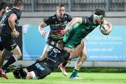 22 November 2020; Tom Daly of Connacht is tackled by Giulio Bisegni of Zebre during the Guinness PRO14 match between Zebre and Connacht at Stadio Lanfranchi in Parma, Italy. Photo by Roberto Bregani/Sportsfile