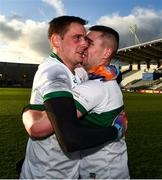22 November 2020; Tipperary captain Conor Sweeney, left and Michael Quinlivan of Tipperary after the Munster GAA Football Senior Championship Final match between Cork and Tipperary at Páirc Uí Chaoimh in Cork. Photo by Ray McManus/Sportsfile