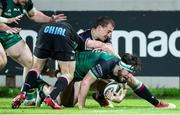 22 November 2020; Tom Daly of Connacht makes a break for the try-line during the Guinness PRO14 match between Zebre and Connacht at Stadio Lanfranchi in Parma, Italy. Photo by Roberto Bregani/Sportsfile