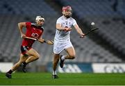 22 November 2020; Cathal Dowling of Kildare gets past John McManus of Down during the Christy Ring Cup Final match between Down and Kildare at Croke Park in Dublin. Photo by Piaras Ó Mídheach/Sportsfile