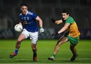 22 November 2020; Gerard Smith of Cavan in action against Eoin McHugh of Donegal during the Ulster GAA Football Senior Championship Final match between Cavan and Donegal at Athletic Grounds in Armagh. Photo by Philip Fitzpatrick/Sportsfile