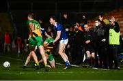 22 November 2020; Cavan staff react after Caolan McGonigle of Donegal was fouled during the Ulster GAA Football Senior Championship Final match between Cavan and Donegal at Athletic Grounds in Armagh. Photo by David Fitzgerald/Sportsfile
