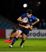 22 November 2020; Harry Byrne of Leinster is tackled by Ben Thomas of Cardiff Blues during the Guinness PRO14 match between Leinster and Cardiff Blues at the RDS Arena in Dublin. Photo by Ramsey Cardy/Sportsfile