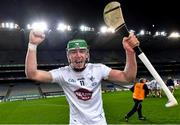 22 November 2020; Jack Sheridan of Kildare celebrates after the Christy Ring Cup Final match between Down and Kildare at Croke Park in Dublin. Photo by Piaras Ó Mídheach/Sportsfile