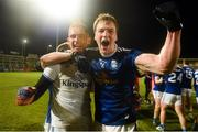22 November 2020; Raymond Galligan and Gearoid McKiernan of Cavan celebrate after winning the Ulster GAA Football Senior Championship Final match between Cavan and Donegal at Athletic Grounds in Armagh. Photo by Philip Fitzpatrick/Sportsfile