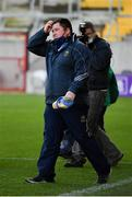 22 November 2020; Tipperary manager David Power reacts at the final whistle of the Munster GAA Football Senior Championship Final match between Cork and Tipperary at Páirc Uí Chaoimh in Cork. Photo by Ray McManus/Sportsfile