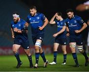 22 November 2020; Michael Bent, left, Ross Molony, centre, and Josh Murphy of Leinster during the Guinness PRO14 match between Leinster and Cardiff Blues at the RDS Arena in Dublin. Photo by Ramsey Cardy/Sportsfile