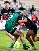 22 November 2020; Tom Daly of Connacht is tackled by Junior Laloifi of Zebre during the Guinness PRO14 match between Zebre and Connacht at Stadio Lanfranchi in Parma, Italy. Photo by Roberto Bregani/Sportsfile
