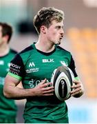 22 November 2020; Colm Reilly of Connacht during the Guinness PRO14 match between Zebre and Connacht at Stadio Lanfranchi in Parma, Italy. Photo by Roberto Bregani/Sportsfile