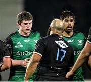 22 November 2020; Sean Masterson, left, and Jarrad Butler of Connacht following the Guinness PRO14 match between Zebre and Connacht at Stadio Lanfranchi in Parma, Italy. Photo by Roberto Bregani/Sportsfile