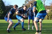 25 November 2020; Sean O'Brien, left, and Dan Leavy  during Leinster Rugby squad training at UCD in Dublin. Photo by Ramsey Cardy/Sportsfile